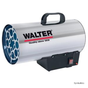 WALTER Gasheizkanone 19000 Heizgerät Gasheizer Gasheizgerät - neue Version!