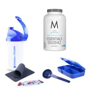 19,04€/100g More Nutrition ESSENTIALS O3-D3-K2 240 KAPSELN Fitness + BONUS