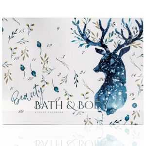 Beauty Bath & Body Adventskalender für Frauen Wellness Weihnachtskalender HIRSCH