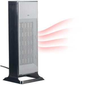 Heizgeräte: Design-Turm-Keramik-Heizlüfter, Thermostat, 3-stufig bis 2.000 Watt