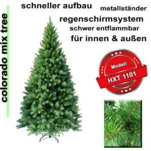 120 - 270cm künstlicher Weihnachtsbaum Christbaum Tannenbaum Tanne Baum Kiefer