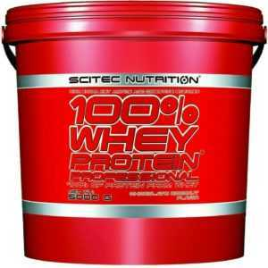 Scitec Nutrition (13,98€/kg) 100% Whey Protein Prof 5000g 5Kg Eiweiss
