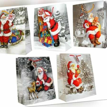 Geschenktüten Weihnachten weihnachtstüten 32x26x13 Tüten Geschenktasche 22-8870
