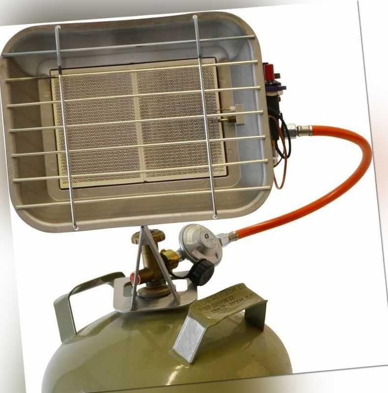 Güde Gasheizstrahler Heizgerät GHS 4200 Piezo Zeltheizung Bauheizer 4,4 kW