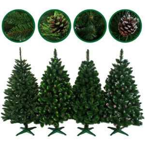 Künstlicher Weihnachtsbaum Tannenbaum Christbaum 90 bis 220 Tanne Dekobaum