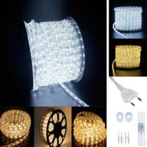 6-100M LED Lichterschlauch Lichtschlauch Lichterkette Wasserdicht Schlauch Außen; EEK A+