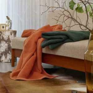 Biederlack Wolldecke Kuscheldecke Wohndecke 150 x 200 cm Soft