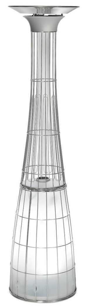 ACTIVA Flammenheizer Heizstrahler Dolce Vita 12 kW Ø0,55x2,28 m + Fernbedienung