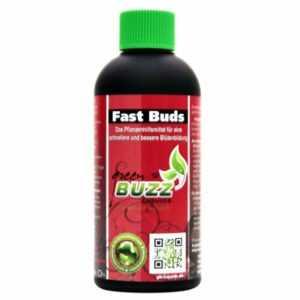 Green Buzz Liquids Fast Buds 500ml Flüssigdünger Grow Erde Hydro Coco