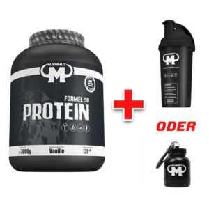 3kg / 3000g Mammut Formel 90 Protein Eiweißshake + Gratisartikel