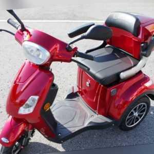 Elektroroller Elektroroller Senior Roller Moped 3 Räder