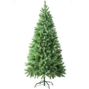 Künstlicher Weihnachtsbaum Tannenbaum Christbaum Spritzguss-Nadeln Grün 180 cm