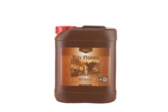 Canna Bio Flores 5 L BioCanna Blütedünger für den Anbau auf Erde