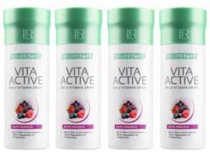 (106,00€/L) 4 x 150 ml LR Vita Active Rote Früchte