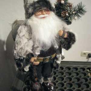 Weihnachtsmann Laterne Santa Klaus 46 cm Nikolaus Weihnachten Weihnachtsdeko