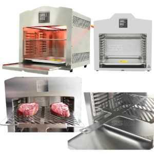 Oberhitzegrill 800 Grad Beef Maker Gasgrill Edelstahl Matrix 880XL Grill Steak
