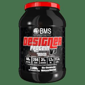Designer Protein V3 Kombi aus Protein, Creatin+Glutamin Muskelaufbau von BMS