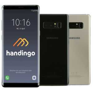 Samsung Galaxy Note 8 N950F Smartphone 64GB Schwarz - Gold