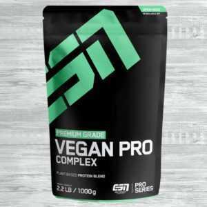 ESN Vegan Pro Complex 1000g Beutel Reisprotein Erbsenproteinisolat Eiweiß Pulver