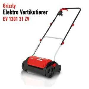 Grizzly Elektro Vertikutierer EV 1201, 1200 W Motor, 31 cm Arbeitsbreite