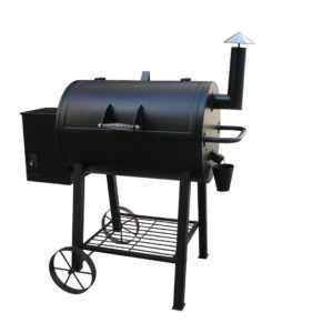 Smoker Holzpelletgrill Magena XXL Grill BBQ Grillwagen 10 Heizstufen NEU/OVP