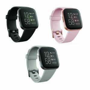Fitbit Versa 2 NFC Smartwatch Fitnesstracker wasserabweisend Herzfrequenzmessung