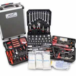 Bituxx Werkzeugkoffer 799 tlg. Bestückt Trolley Werkzeugkasten Werkzeugkiste Set