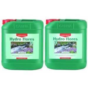 CANNA Hydro Flores A&B je 5L Dünger für Blühphase auf Steinwolle/Hydrosystemen