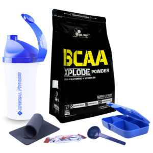 ++ Olimp BCAA Xplode Pulver, 1000g Beutel + BONUS ++
