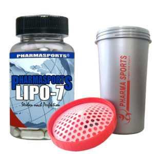 Pharmasports Lipo-7 zum Fatburner Workout zum abnehmen in der Diät