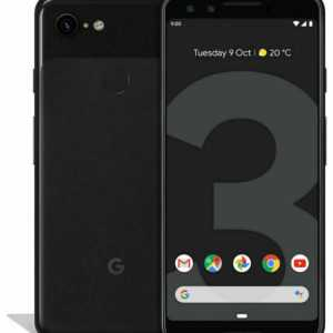 Google Pixel 3 - 64GB - Just Black (Ohne Simlock)