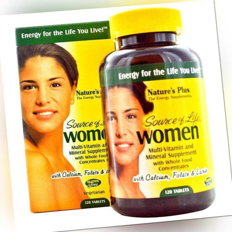 Natures Plus Source of Life Women 120 Tabletten