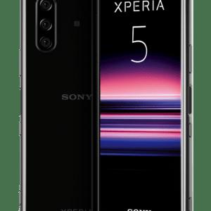 "Sony Xperia 5 schwarz, Dual SIM Smartphone 6.1"", 6GB, 128GB, 3x12MP, Android 9.0"