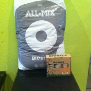 BioBizz Allmix 50 L & BioBizz Trypack Indoor