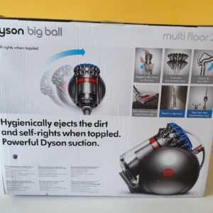Dyson 228565-01 Big Ball Multifloor 2 + Bodenstaubsauger Beutellos Blau NEU