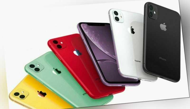 Apple iPhone 11 64 128 256 Schwarz Weiß Lila Rot Red Grün Gelb - Soweit vorrätig