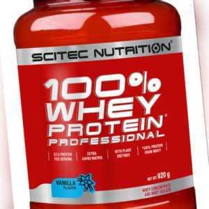 Scitec Nutrition 100% Whey Protein Professional 920 g Eiweiß