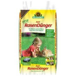 NEUDORFF - Azet RasenDünger - 20 kg - Rasen Dünger Langezeitdünger Gras Wiese