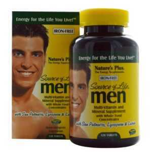 Natures Plus Source of Life Men 120 Tabletten
