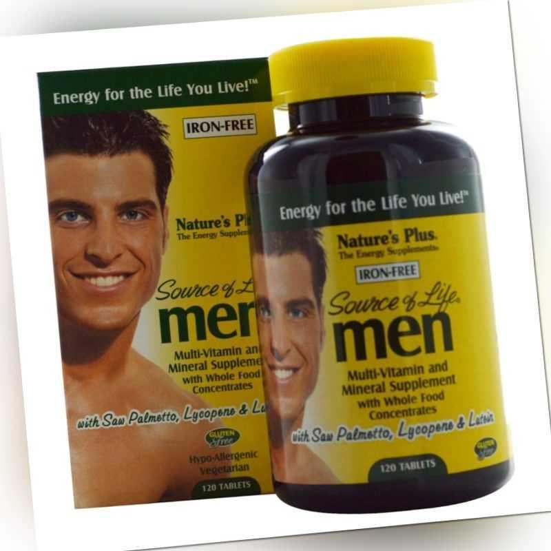Natures Plus Source of Life Men 120 Tabletten