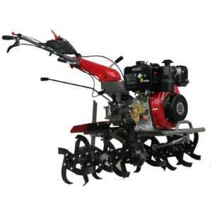 Weima WM1100BE-6 9PS 418cc Diesel Gartenfräse Motorhacke Bodenfräse Axensperrung