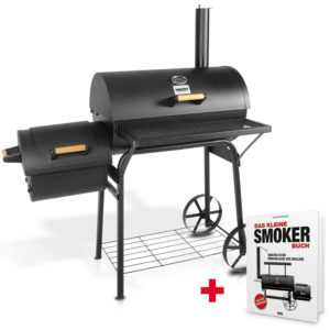 Hecht Sentinel BBQ GRILL SMOKER HOLZKOHLEGRILL GRILLWAGEN Thermostat