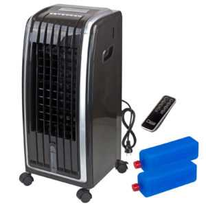 Air Cooler 3in1 Klimagerät Ventilator Kühlgerät Luftreinigung 6,5 l 75 W schwarz; EEK A