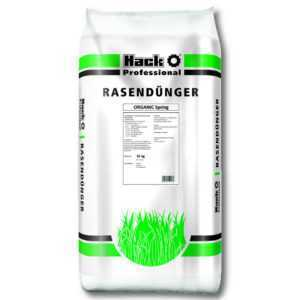 HACK PROFI Rasendünger Organic Spring 25 kg Sportplatzdünger Profidünger