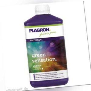 1L Plagron Green Sensation Grow Dünger Wachstum Blüte Steckling Booster Wuchs