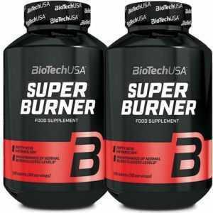 (9 EUR/100 g) 2x Biotech USA Super Burner 120 Kapseln Diät Glutenfrei