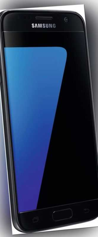 Samsung G930F Galaxy S7 schwarz 32GB LTE Android Smartphone ohne Simlock 5 Zoll