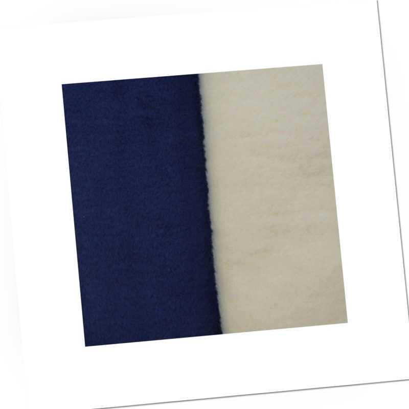 Richter Textilien Decke Doubleface 100 x 150 cm Bio-Baumwolle