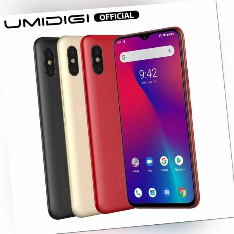 UMIDIGI F1 Android 9.0 4GB 128GB 5150mAh Smartphone ohne Vertrag Handy 6.3Zoll