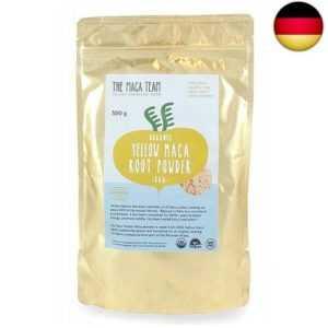 Rohes gelbes Maca Wurzel Pulver ? 500g ? bio- zertifiziert, frische Ernte aus